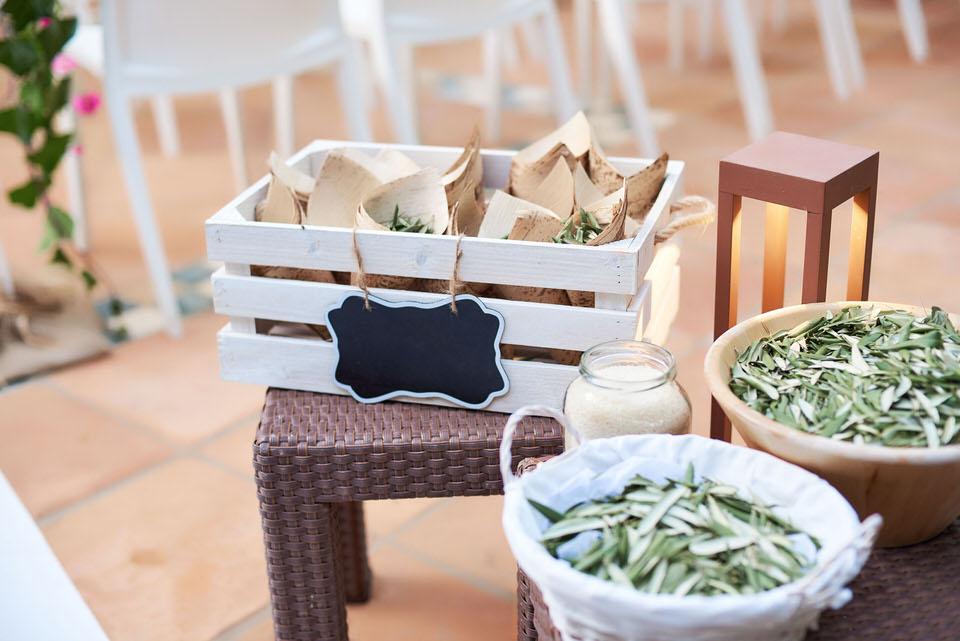 ¿Por qué usar hojas de olivo en tu boda?
